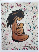 Cassi Lockhart Mother Afro
