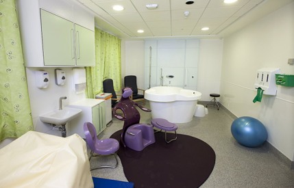 Birth Centre, based at Chesterfield Royal Hospital
