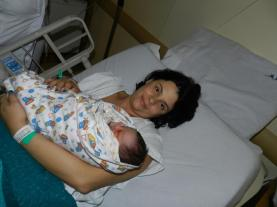 2012 - Nascimento da Cecília