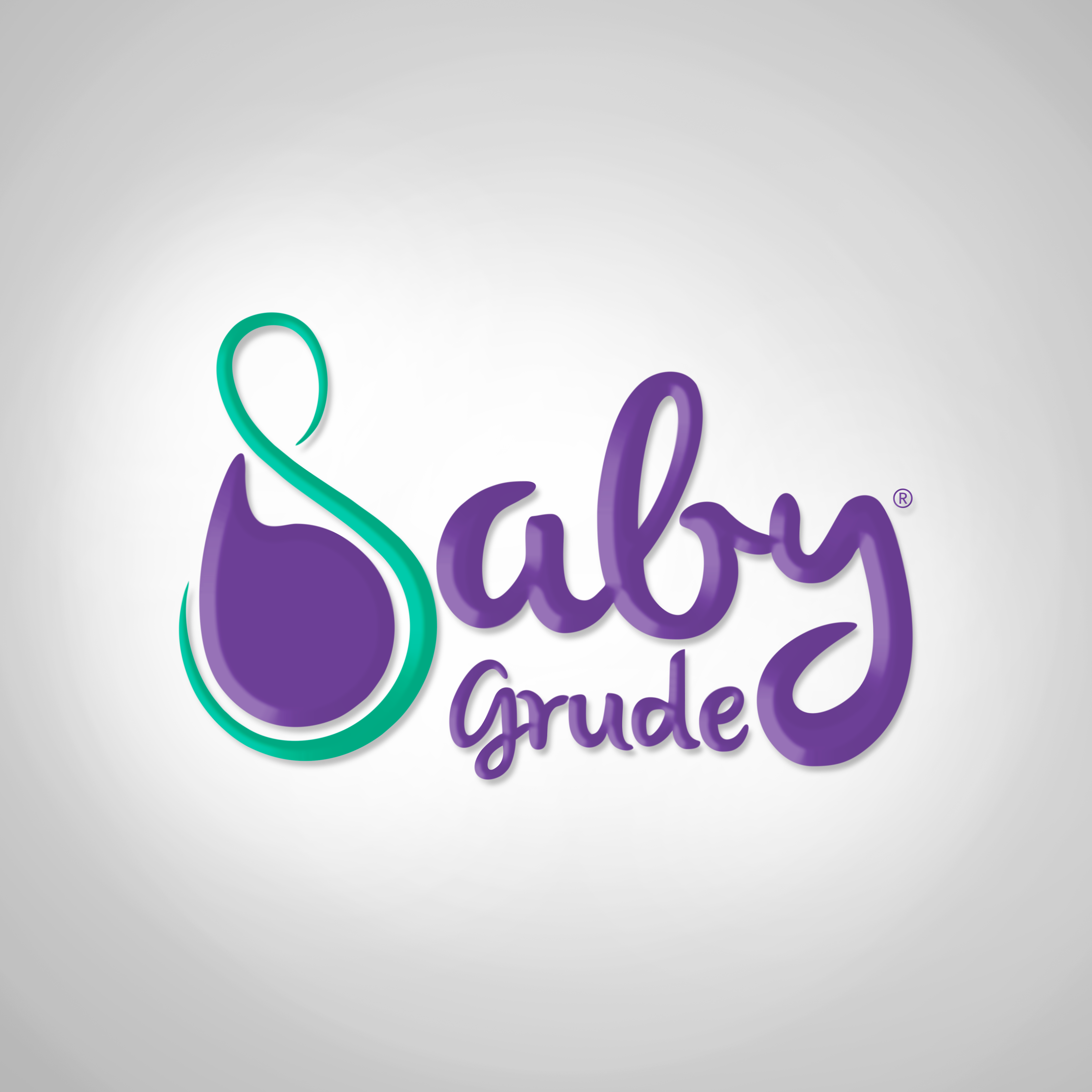 3D - Logo Baby Grude clear background